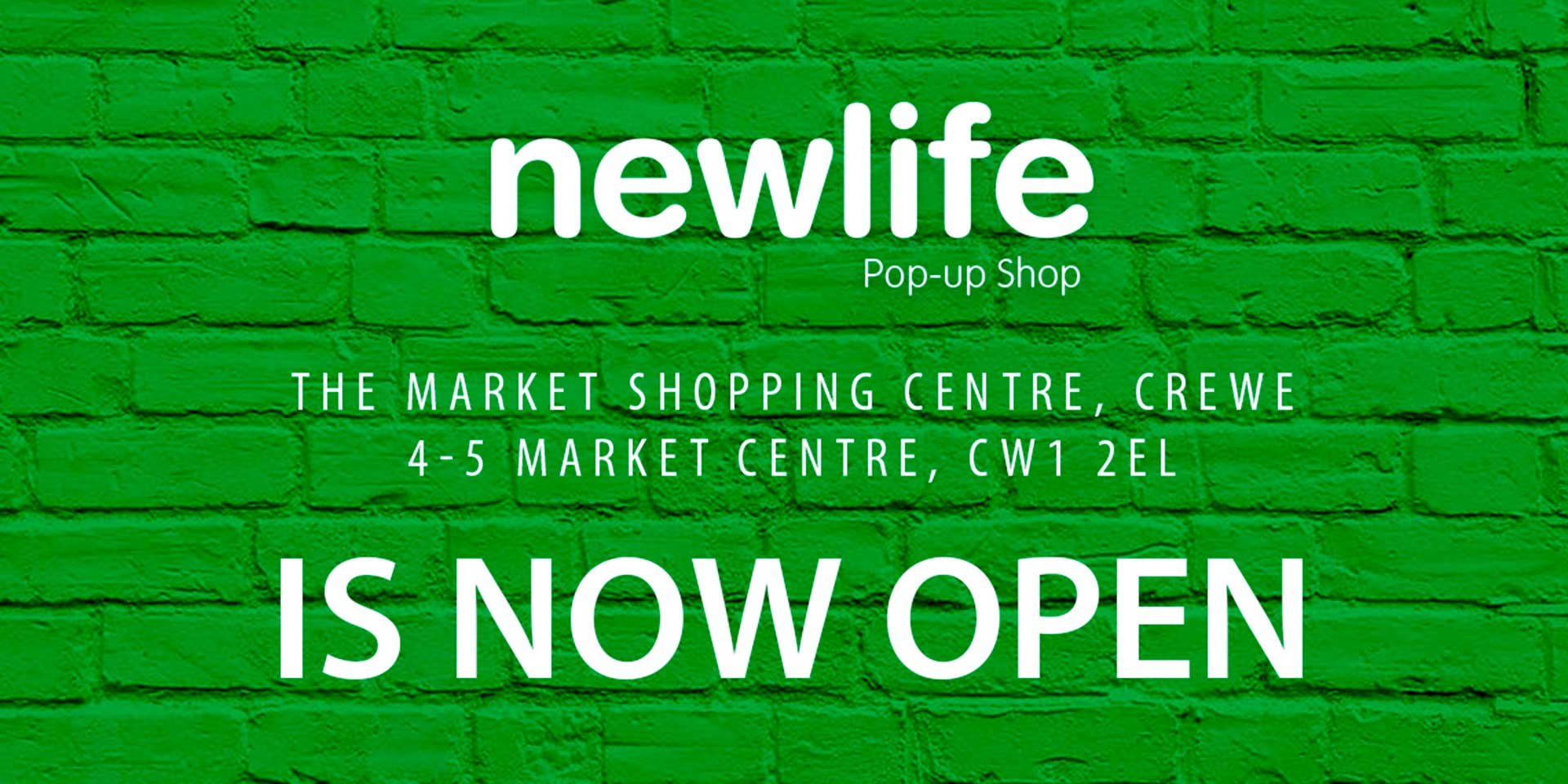 Newlife Pop-up Shop Redcar