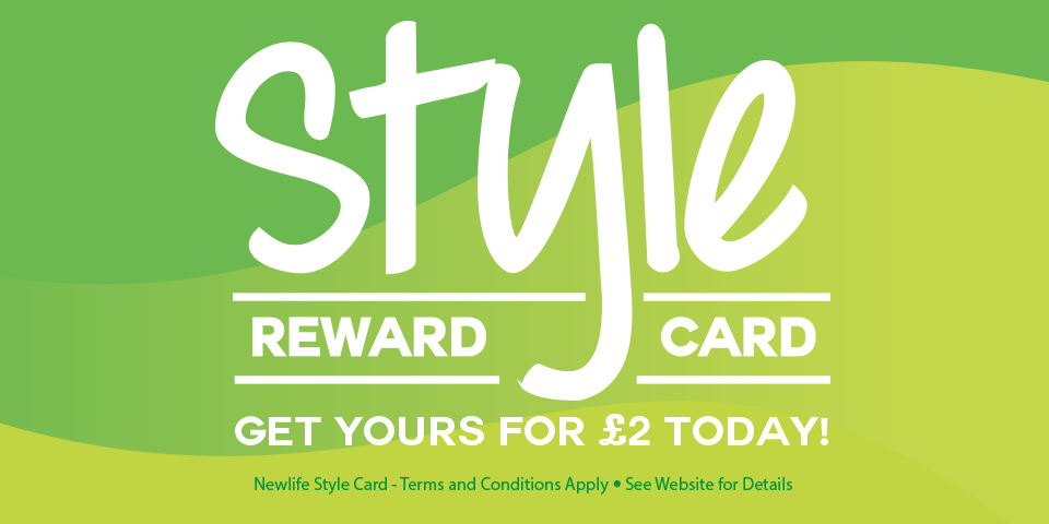 Newlife Style Reward Card